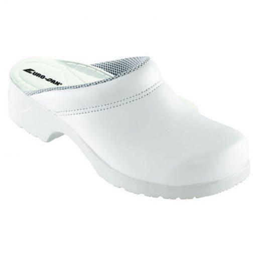 pd sikkerhedssko flex toeffel med udskiftelig indlaegssaal hvid produkt