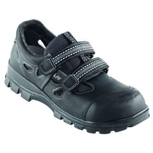 pd sikkerhedssko walki soft sandal bagkap politex produkt