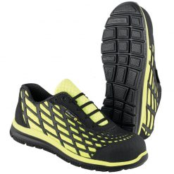 pd sikkerhedssko spider sikkerhedssko sort gul produkt